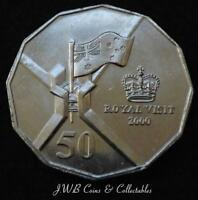 2000 AUSTRALIA 50 CENTS COIN ROYAL VISIT