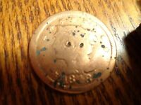 1848 LARGE CENT    COIN  W 108