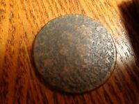 CLASSIC HEAD LARGE CENT    LOT COIN   W 581