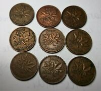 LOT ONE CENT 1950 1951 1952 1953 1955 1956 1957 1958 1959
