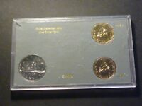 CANADA 1985 $1 TEST TOKEN SET CH TTS 2  GREY WITH GOLD PRINT