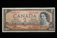1954 CANADA.  $2  TWO DOLLARS.