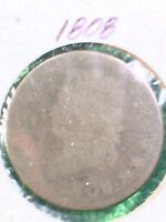 1808  CLASSIC HEAD LARGE CENT ALMOST GOOD