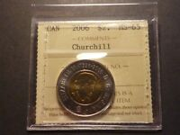 CANADA TWO DOLLARS 2006 CHURCHILL BUSINESS STRIKE GRADED ICCS MS 65