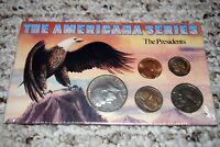 UNOPENED/SEALED THE AMERICANA SERIES  THE PRESIDENTS  5 COIN  COLLECTION