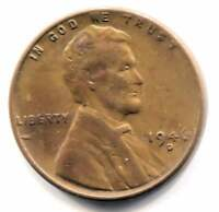 U.S. 1946 D LINCOLN WHEAT CENT - AMERICAN ONE CENT COIN - DENVER MINT