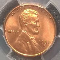 1938-S  LINCOLN CENT  PCGS  MINT STATE 65RD
