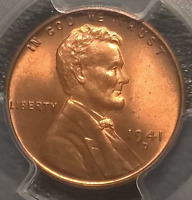 1941-D  LINCOLN CENT  PCGS  MINT STATE 66RD