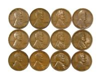 LOT OF 20 1933 P 1C LINCOLN WHEAT CENT PENNIES VG  GOOD 128225