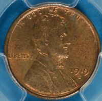 1919-S LINCOLN WHEAT CENT PCGS MINT STATE 64RB- TOUGHER DATE/MINT,  EXAMPLE