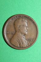 1921 S LINCOLN WHEAT CENT PENNY EXACT COIN PICTURED FLAT RATE SHIPPING OCE1042