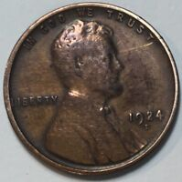1924-D LINCOLN CENT TOUGHER DATE