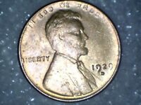 1929 - D - UNCIRCULATED LINCOLN WHEAT CENT