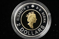 2000 CANADA.  $2  TWO DOLLARS. SILVER PROOF.