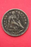 1857 P SEATED LIBERTY HALF DIME EXACT COIN PICTURED FLAT RATE SHIPPING OCE098