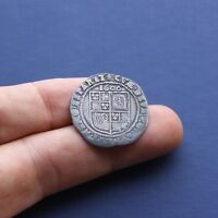 HAMMERED SILVER COIN JAMES 1ST SIXPENCE 1606 AD