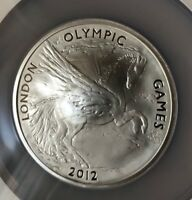 2012 OLYMPIC GAMES VERY SPECIAL SILVER 5OZ PROOF COIN NGC PF