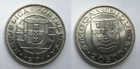 1971 MOZAMBIQUE 20 ESCUDOS NICKEL 29.85MM KM 87 CIRCULATED WORLD COIN