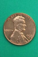 RED BU 1963 D LINCOLN MEMORIAL CENT EXACT COIN SHOWN FLAT RATE SHIPPING TOM18