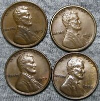 1919 1921-S 1927 1928 LINCOLN WHEAT CENTS ---  LOT --- I357