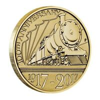 2017 TRANS   AUSTRALIAN RAILWAY CENTENARY $1 ONE DOLLAR UNC COIN PERTH MINT