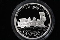 1999 CANADA. 25 CENTS.