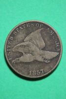 1857 FLYING EAGLE SMALL CENT EXACT COIN PICTURED FLAT RATE SHIPPING OCE028