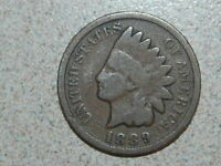 1889 INDIAN HEAD CENT   2592