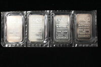 JOHNSON MATTHEY / TD BANK. 4 X ONE OUNCE .999 SILVER BARS IN SERIES. SEALED.
