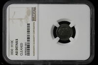 1830 UNITED STATES. HALF DIME. CAPPED BUST. NGC GRADED AU.