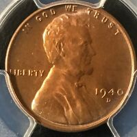 1940-D 1C RD LINCOLN WHEAT CENT PCGS MINT STATE 67RD     36110425