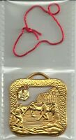 2008 ROYAL CANADIAN MINT  'HOCKEY DREAMS ON ICE' TREE ORNAMENT 10K GOLD PLATED