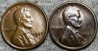 1923 AND 1924-S LINCOLN CENT CENT ----  CONDITION LOT ---- P395