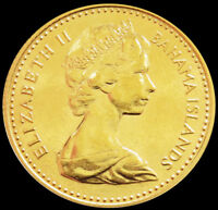 1967 GOLD BAHAMAS $20 ADOPTION OF CONSTITUTION 7.98 GRAMS CO