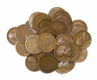 LOT OF 40 1913 P 1C LINCOLN WHEAT CENT PENNIES G GOOD LIGHT BLEMISHES 136081