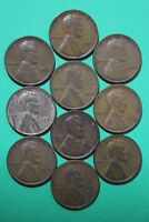 LOT OF 10 1933 P LINCOLN WHEAT CENTS EXACT COINS SHOWN FLAT RATE SHIPPING OCE119
