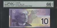 Click now to see the BUY IT NOW Price! CANADA BER PREFIX PRINTED 2003 ISSUE 2001 $10 PMG GEM UNCIRCULATED 66 EPQ BC 63C
