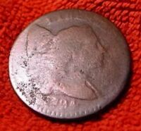 1794 LARGE CENT LIBERTY CAP  2ND YEAR MADE LARGE USA CENT