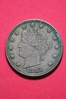 1883 LIBERTY V NICKEL NO CENTS EXACT COIN SHOWN FAST FLAT RATE SHIPPING OCE215