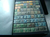 1063 U.S. STAMPS IN STOCK BOOK BETTER ITEMS UNUSUAL GEMS ETC. LOADED WITH VALUE