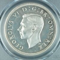 CROWN 1937 PCGS PR63CAM GREAT GRITAIN UK SILVER PROOF COIN C