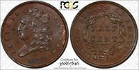 1833 CLASSIC HEAD HALF CENT      CERTIFIED PCGS MS 64