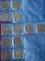 12 BU MINT SET CELLO 1973 1974 1975 1976 1977 1978  EISENHOWER IKE DOLLARS LOT