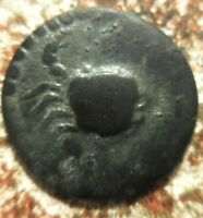 ISLANDS OFF SICILY LOPADUSA 2ND C BC. CRAB / NOT SURE OF REVERSE: