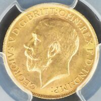 FULL SOVEREIGN 1913 PCGS MS64 GREAT BRITAIN S 3996 GOLD COIN