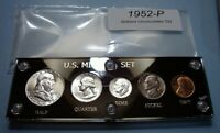 1952 MINT SILVER SET U.S. COINS BRILLIANT UNCIRCULATED FLASH