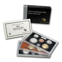 2012 S SILVER PROOF SET
