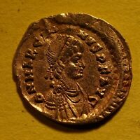 TATER  BYZANTINE GOLD TREMISSIS OF MARCIAN   VICTORY  450 T