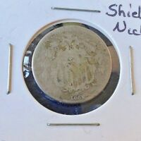 1869-P SHIELD NICKEL  BOLD FULL DATE  NO RAYS ULTRA LOW FIXED PRICEP26