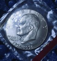 1975/1976-D BICENTENNIAL IKE $1  TYPE I  IN MINT CELLO LOW FIXED PRICEM25